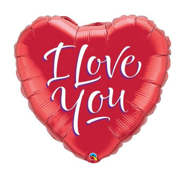 M9″ 29131 I Love You Script Modern *1b