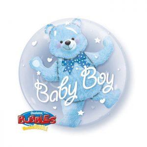 24 Baby Blue Bear