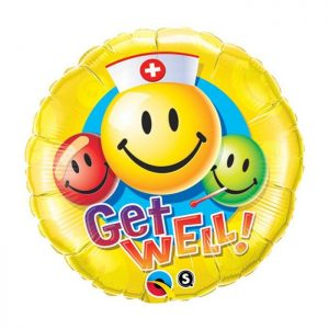 M18 Get Well Smiley Faces * 1b