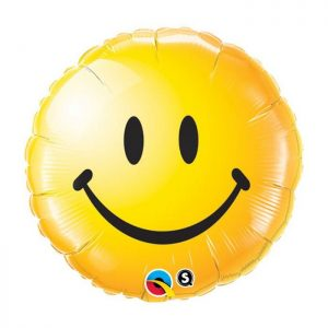 M18 Smiley Face Yellow