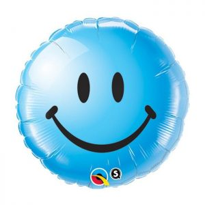 M18 Smiley Face Blue