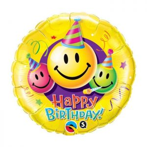 M18 Birthday Smiley Faces