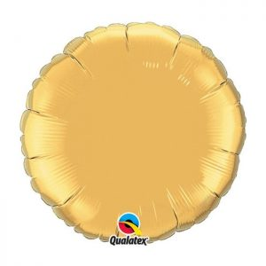 M18 Rond Metallic Gold emballé * 1b