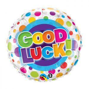 M18″ 36387 Good Luck Colourful Dots *1b
