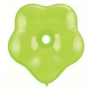 Geo Blossom 6 Lime Green