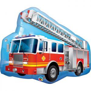 M36 Red Fire Truck * 1b