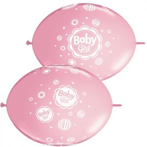 12″ Quick Link 42702 Baby Girl Dots *50b
