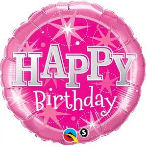M36 43172 Birthday Pink Sparkle *1b