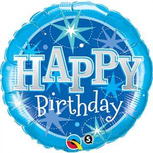 M36 43216 Birthday Blue Sparkle *1b