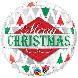 M18 43496 Merry Christmas Tree Patterns *1b