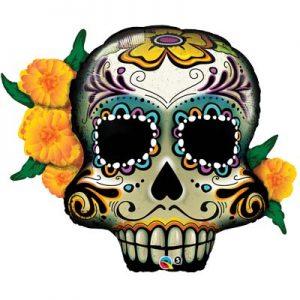 M38″ 44228 Day of the dead Skull *1b