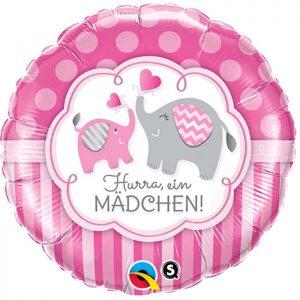 M18 44521 Hurra, Ein Madchen Elephants *1b
