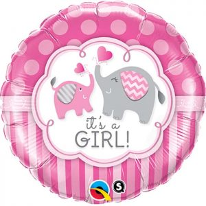 M18 45106 It's A Girl Elephants *1b