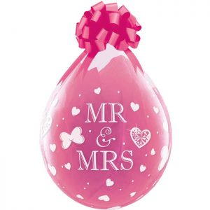 "I18"" 45724 Mr. & Mrs. Diamond Clear *25b"