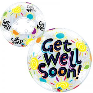 Bubble 22″ 49337 Get Well Soon Sunny Day *1b
