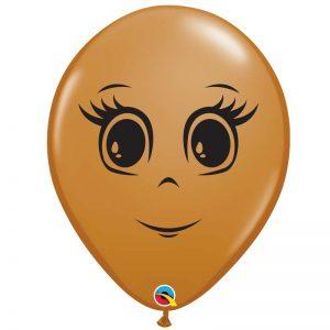 I5″ 49985 Mocha Brown Feminine Face *100b