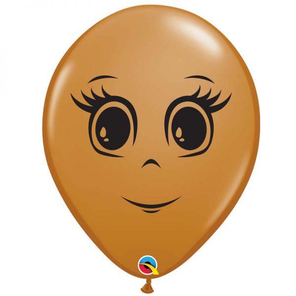 I16″ 49978 Mocha Brown Feminine Face *50b