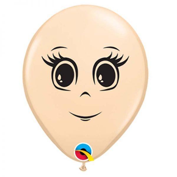 """I16"""" 49977 Blush Feminine Face *50b"""