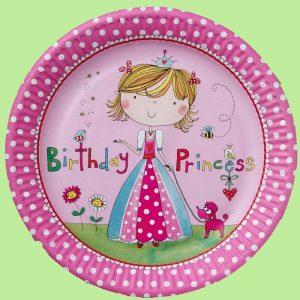 Assiettes en Carton Princesse Rachel Ellen (8ct)