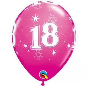 I11″ 53445 CH18 Sparkle-A-Round Wild Berry *6b
