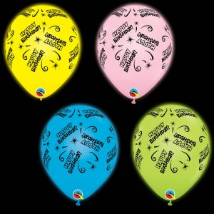 Q-LITE 53635 Assortiment Yellow/ Pink/ Blue/ Green *4b
