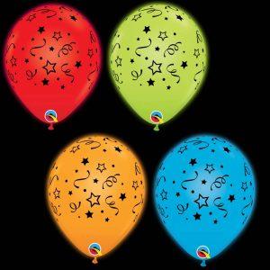 Q-LITE 53637 Stars, Dots & Confetti *4b