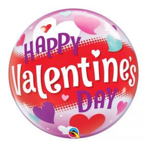 "Bubble 22"" 54603 Happy Valentine's Day Hearts *1b"