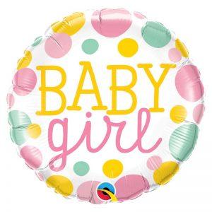 "M18"" 55388 Baby Girl Dots *1b"