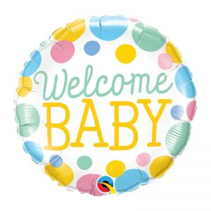 """M18"""" 55391 Welcome Baby Dots *1b"""