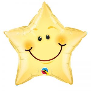 "M20"" 55394 Smiley Face Star *1b"
