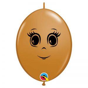 "I6"" Quick Link 55460 Feminine Face Mocha *50b"