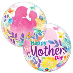 """Bubble 22"""" 55581 Mother's Day Silhouette *1b"""