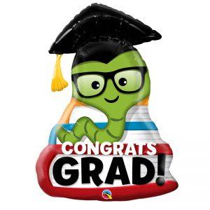 """M37"""" 55873 Congrats Grad Bookworm *1b"""