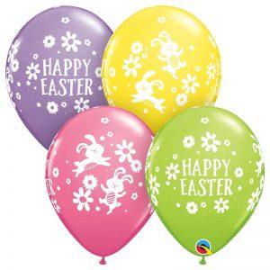 "I11"" 57185 Easter Bunnies & Daisies *25b"