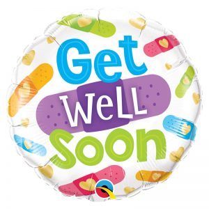 "M18"" 57304 Get Well Soon Bandages *1b"