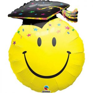 M14″ 99855 Smile Face Party Grad *1b