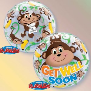 Bubble 22 Get Well Monkeys * 1b