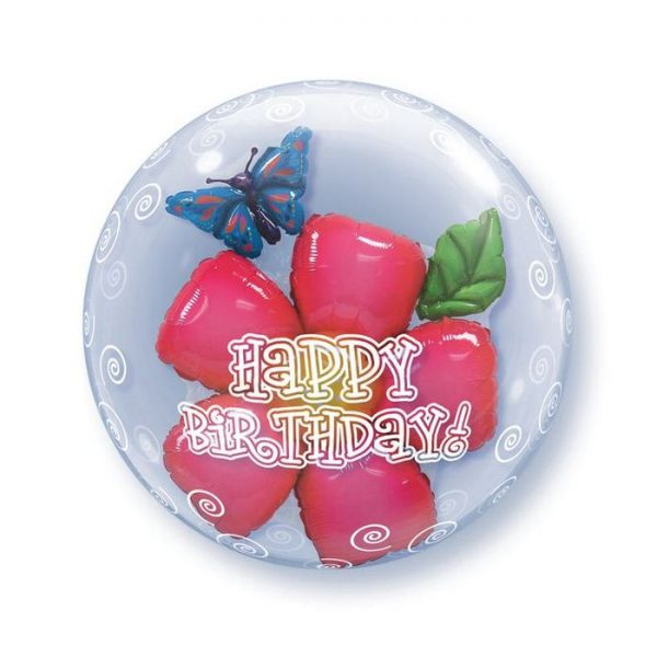 Bubble 24 Birthday Flower * 1b