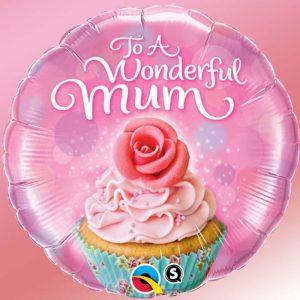 M18″ 90585 To A Wonderful Mum Cupcake *1b