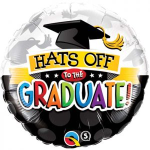 M18″ 93214 Hats Off To The Graduate *1b