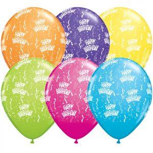 5 45269 Birthday-A-Round Tropical ASS * 100b