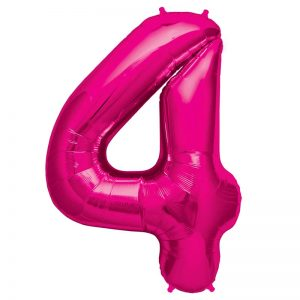 "34"" Number 4 - Magenta B1-01"
