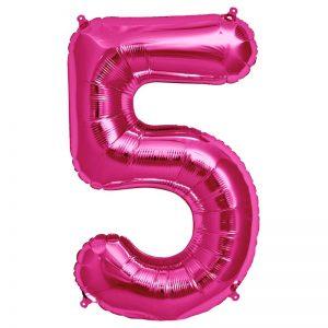 "34"" Number 5 - Magenta B1-01"
