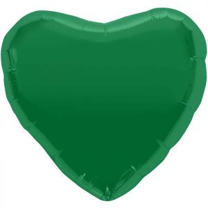 "Coeur Emerald Green Heart 18"" D1"
