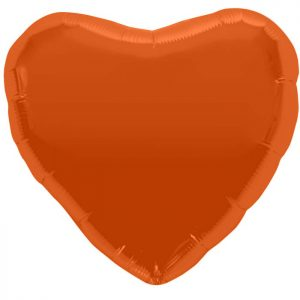 "Coeur Orange Heart 18"" D1"