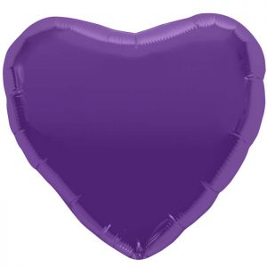 "Coeur Purple Heart 18"" D1"