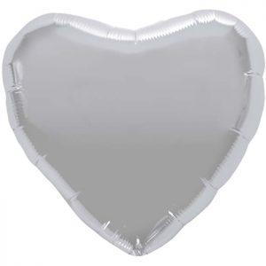 """Coeur Silver Heart 18"""" D1"""