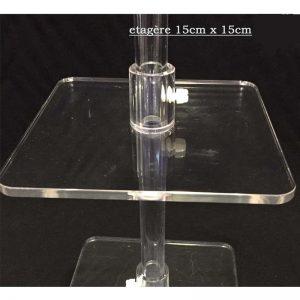 Plexipole VPSS6 Étagère 15cmx15cm