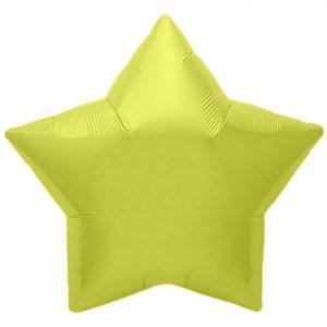 "Etoile Citrine Yellow Star 22"" D3"