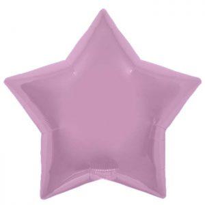 "Etoile Pastel Pink Star 22"" D3"